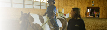 Refuge Services - Equine-Assisted Psychotherapy, Hippotherapy, Therapeutic Riding